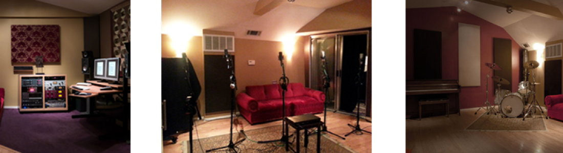 A Vintage style Recording Studio in a modern world